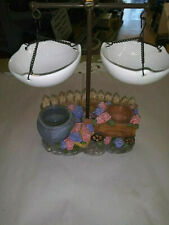 Yankee Candle Double Hanging Tart Burner/Warmer Hydrangeas Wheelbarrow 2012