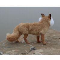 Realistic Furry Body Garden Statue Yard Decor Nature Brown Figurine