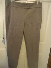 Counterparts black/white check super stretch slim pants, pull-on, 16