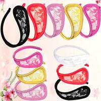 Promotion femmes C-String Thong sous-vêtements culotte lingerie G-Str IHS