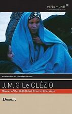 DESERT (Hardcover) by Jean-Marie Gustave Le Clezio NEW