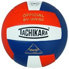 Tachikara SV5WSC Sensi-Tec Composite Volleyball (Orange, Wht, Navy) SV5WSC.OWN