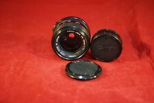 New listing Canon Fd 50mm f1.4 with Caps. Excellent - Sample pictures.