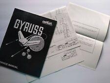 Gyruss Arcade MANUAL And Schematic Set Original 1983 Video Game Repair Paperwork