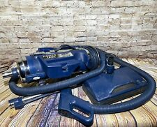 Royal Pony 4600 Deluxe Power Team Canister Vacuum Cleaner Vintage Tested Works