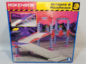 Rokenbok System Bridges And Roadways Parts new sealed in bags Incomplete