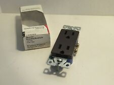 COOPER 1107B-BOX 15A 125V 2P 3 WIRE GROUNDING RECEPTACLE NEW