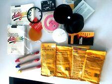 Lot Unicolor processing drum. Kodak d-76 Developer Fixer, Dark Room Data Guide