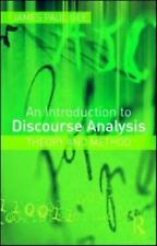 An Introduction to Discourse Analysis: Theory and Method by Gee, James Paul