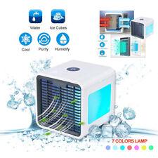 Humidificador de aire acondicionado de Escritorio Fuente de alimentación USB Ventilador Portátil Refrigeración Cooler