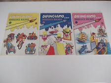 Lotto 3 volumi DIPINGIAMO CON SHERLOCK HOLMES AMZ 1984