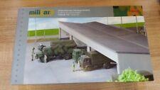 Herpa 745499 Military Gebäudebausatz Fahrzeugunterstand