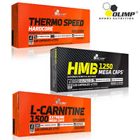 THERMO SPEED HARDCORE + HMB + L-CARNITINE 1500 - Powerful Weight Fat Loss Combo