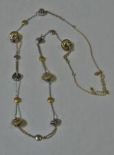 """LIA SOPHIA JETTISON NECKLACE - SILVER & GOLD color 38-41"""" - RV $78"""