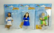 BIBLETOYS NEW JESUS MARY MOSES Figures Bible Toys by Beverly Hills Teddy Bear