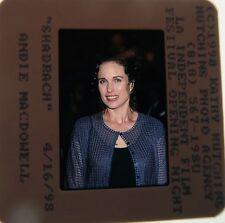 Andie McDowell Sex, Lies, and Videotape Four Weddings & a Funeral 1998 SLIDE 11