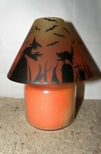YANKEE CANDLE HALLOWEEN GRAVE YARD SCENE JAR SHADE BRAND NEW WITH TAGS