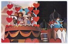 Walt Disney World It's a Small World After All Vintage Postcard #910