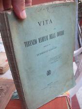 1888 VITA DI TERENZIO MAMIANI DELLA ROVERE SCRITTA DA DOMENICO GASPARI