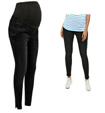 Maternity New Look Over Bump Jenna Jeans, Washed Black Pregnancy Skinny Jeggings