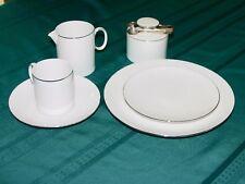 "Marquise by ""Thomas"" Bavaria Silver Edged Bone China Ellegant Tea Set - Full set"