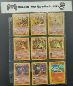 🔥 VINTAGE HOLO CHARIZARD CARD GUARANTEED 🔥 Lot of Old Original Pokémon WOTC