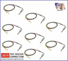 Fast Response Exhaust Gas Temperature EGT Probe Sensor Compression Fitting x8