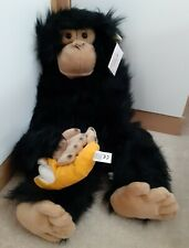 The Puppet Company Chimp With Banana BNWT 74 Cm