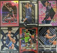 Lot of (6) Josh Okogie, Including Prizm RC, Marquee Pink RC & other parallels