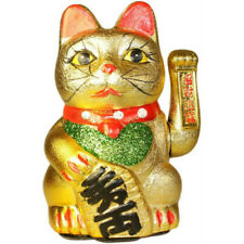 MANEKI NEKO LARGE MONEY CAT - CHINESE LUCKY WAVING CATS - ATTRACT WEALTH