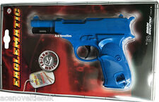 Eaglematic Strip Caps Toy Gun 13 Shot - Edison Giocattoli - Made in Italy - BLUE