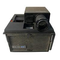 VBell & Howell Slide Vintage Projector Cube Model RF60 System II Tested Works