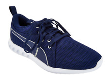 PUMA Mesh Lace-up Sneakers Shoes Carson 2 Metallic Blue Depths Women s ... 132743467