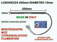CANDELETTA RESISTENZA STUFA PELLET 10X200 - 400W MCZ MONTEGRAPPA CTPASQUALICCHIO