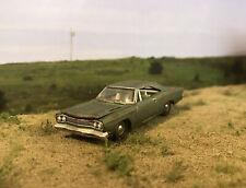 1968 Plymouth Roadrunner Rusty Weathered Custom 1/64 Diecast Car Barn Find Rust