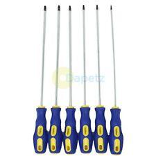 6 Extra Long Torx Star Magnetic Screwdriver Set T10 T15 T20 T25 T27 T30 Torque