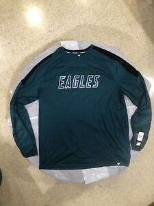 Philadelphia Eagles NFLT1104 Fanatics Stealth Defender Raglan T-Shirt 2XL $45