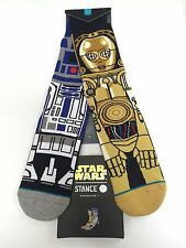 STANCE STAR WARS COLLECTION DROID socks Brand New!!!! ARTOO /R2D2 & C3PO