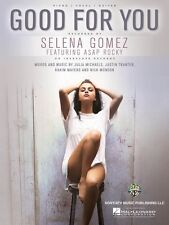 Good for You Sheet Music Piano Vocal Book Selena Gomez NEW 000153256