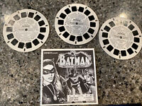 Viewmaster Batman And Robin 3 Reel Set
