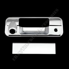 For 07-13 TOYOTA TUNDRA CREW MAX DOUBLE CAB Chrome Tailgate Handle Cover W/Cam