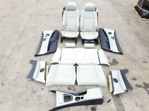 2005-2008 E93 BMW 3 SERIES M SPORT FULL INTERIOR SEATS DOOR CARDS CONVERTIBLE