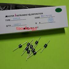 100pcs 10A10 10 Amp 1000V 10A 1KV Axial Rectifier Diode