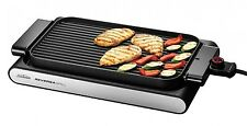 Electric Grill BBQ Griddle Sunbeam Countertop 2400W Hot Plate New Free Shipping