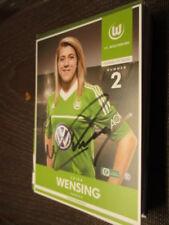 77054 Luisa Wensing VFL Wolfsburg Damen original signierte Autogrammkarte