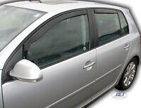 Deflecteurs d'air Déflecteurs de vent pour VW GOLF V  5 portes 2004-2008  4pcs