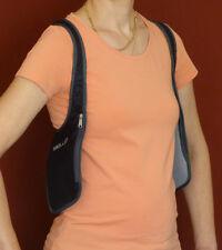 Beidseitiges Schulterholster mit 4 Taschen für Sport, Reise und Alltag Security
