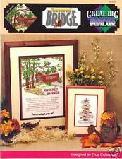 Covered Bridges of Madison County  Cross Stitch Pattern 2 designs