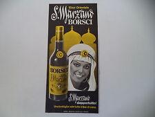 advertising Pubblicità 1977 AMARO BORSCHI S. SAN MARZANO