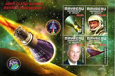 Mayreau Grenadine SAINT VINCENT 2013 MNH JOHN GLENN Orbita 4V M / S TIMBRI vano